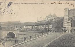 75 PARIS METRO AU ROND POINT DE LA VILETTE Editeur: C L C 307 - Stations, Underground