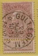 +MW-4033     * GULLEGHEM *   OCB 61  Sterstempel     COBA   +10 - 1893-1900 Schmaler Bart