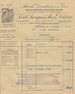 Facure Alcool Denatures En G Ros . Alfort 1930 - 1900 – 1949