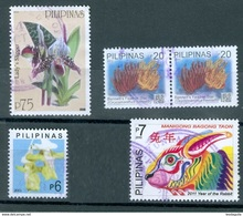 PHILIPPINES  -  5 STAMPS  - USED - Philippines
