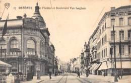 OSTENDE - Le Théâtre Et Boulevard Van Iseghem - Oostende