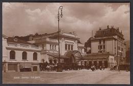 CPA  Suisse, VEVEY, La Gare, Carte Photo. - VD Vaud