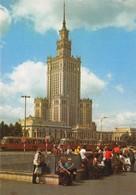 "4880 ""WARSZAWA-PALAC KULTURY I NAUKI ""ANIMATA-TRAMWAY -CART. POST.OR. NON SPED. - Polonia"