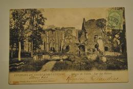 Belgique Environs De Court Saint Etienne Abbaye De Villers Vue Des Ruines - Court-Saint-Etienne