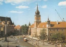 """4881 """"WARSZAWA-ZAMEK KROLEWSKI-STAN PO ODBUDOWIE""""ANIMATA-PULLMAN -CART. POST.OR. NON SPED. - Polonia"""
