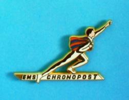 1 PIN'S //  ** EMS / CHRONOPOST / EXPÉDITION COLIS EXPRESS ** . (Arthus Bertrand Paris) - Postes