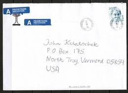 NORWAY   Scott # 1397 On PRIORITY AIRMAIL COMMERCIAL COVER To U.S.A. (18/09/02) (OS-486) - Norway