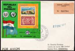 Paraguay Mi# Bl. 291 FDC - Paraguay
