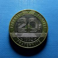 France 20 Francs 1992 - Frankreich