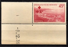 MONACO 1939 / 1940  - Y.T. N° 204 - NEUF ** - Monaco