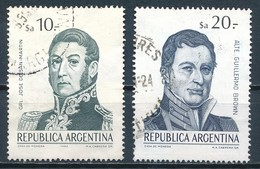 °°° ARGENTINA - Y&T N°1374/75 - 1983 °°° - Argentina