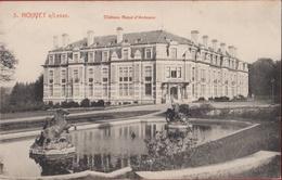 Houyet Le Chateau Royal D' Ardenne Les Fontaines Et L' Annexe Timbre CPA RARE (En Très Bon Etat) (In Zeer Goede Staat) - Houyet