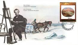 2000   Canadian Art: Painting By C. Krieghoff Sc 1963 - Omslagen Van De Eerste Dagen (FDC)
