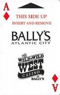 Bally's Casino - Atlantic City NJ - Hotel Room Key Card - Hotel Keycards