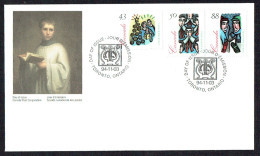 1994   Christmas  Sc 1537-1539 - Omslagen Van De Eerste Dagen (FDC)