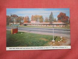 Deep Well Motel   1 Mile West Of Owego  NY  Ref 3504 - NY - New York