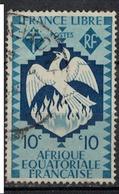 A E F         N°  YVERT     142    OBLITERE       ( Ob  2/52 ) - A.E.F. (1936-1958)