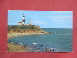 Montauk Point Light House   - New York > Long Island    Ref 3504 - Long Island