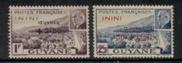 Inini 1944 Petain Opt Colonial Development Fund MLH - Inini (1932-1947)