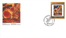1995  Canadian Art   Painting By Alfred Pellan  Sc 1545 - Omslagen Van De Eerste Dagen (FDC)