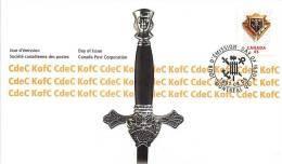 1997 Knights Of Columbus  Sc 1656 - Omslagen Van De Eerste Dagen (FDC)