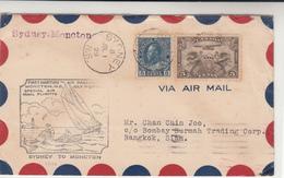 Canada / Airmail / N.S. / Thailand - Canada