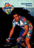 MAPEI.. BALLERINI FRANCO  1998...VOIR DOS...CPM - Cyclisme