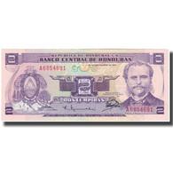 Billet, Honduras, 2 Lempiras, 1976-09-23, KM:61, NEUF - Honduras