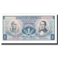 Billet, Colombie, 1 Peso Oro, 1974-08-07, KM:404c, NEUF - Colombia