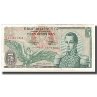 Billet, Colombie, 5 Pesos Oro, 1968-07-20, KM:406b, SUP - Colombia
