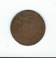 Piece En Bronze 5 C Napoleon  De 1861 - Oudheid