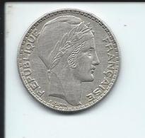 Piece De 20 Francs Turin Argent De 1933 - Frankreich