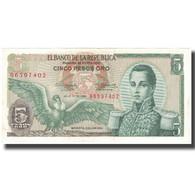 Billet, Colombie, 5 Pesos Oro, 1968-07-20, KM:406b, SPL - Colombia