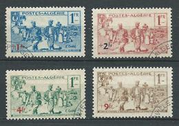 ALGERIE 1939 . Série N°s 159 à 162 . Oblitérés. - Used Stamps