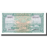 Billet, Cambodge, 1 Riel, UNDATED (1956-75), KM:4b, SPL+ - Cambodge