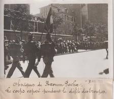 OBSÈQUES DE NAOUM PACHA LE CORPS DÉFILÉ DES TROUPES  Turquie TURKIJE  18*13CM Maurice-Louis BRANGER PARÍS (1874-1950) - Personalidades Famosas