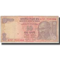 Billet, Inde, 10 Rupees, KM:89a, TB - Inde