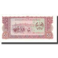 Billet, Lao, 50 Kip, Undated (1979), KM:29r, SPL+ - Laos