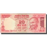 Billet, Inde, 20 Rupees, KM:89Ad, SUP - Inde