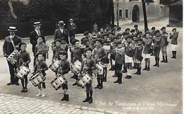 SUISSE -  CARTE POSTALE -  PHOTO - STE DE TAMBOURS ET FIFRES NYONNAIS -  FONDE LE 24 AVRIL 1926 - VD Vaud