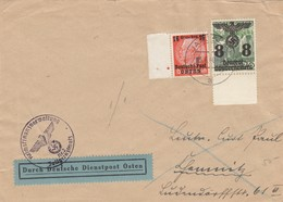 GG 1940: MeF DDDP Osten Nach Chemnitz Von Jaslo, Vignette Parole Der Woche - Occupation 1938-45