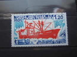 VEND BEAU TIMBRE DES T.A.A.F. N° 66 , XX !!! (a) - Französische Süd- Und Antarktisgebiete (TAAF)