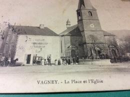 VAGNEY. La Place - Autres Communes