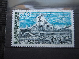 VEND BEAU TIMBRE DES T.A.A.F. N° 74 , XX !!! (b) - Unused Stamps