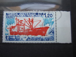 VEND BEAU TIMBRE DES T.A.A.F. N° 66 + BDF , XX !!! (a) - Unused Stamps