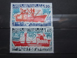 VEND BEAUX TIMBRES DES T.A.A.F. N° 66 + 67 , XX !!! (a) - Unused Stamps