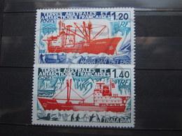 VEND BEAUX TIMBRES DES T.A.A.F. N° 66 + 67 , XX !!! (c) - Unused Stamps