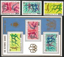 V) 1976 PENRHYN ISLAND,  21ST OLYMPIC GAMES, MONTREAL, CANADA, MNH - Penrhyn