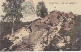 CPA - ORMOY-VILLERS - La Pierre Glissoire - France