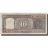 Billet, Inde, 10 Rupees, KM:60Aa, B+ - Inde